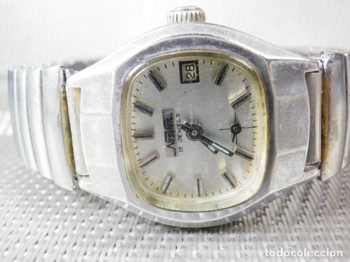 Relojes de pie: ORIGINAL NESVER SUIZO FINALES AÑOS 50 BUEN ESTADO FUNCIONA LOTE WATCHES MONTRE - Foto 4 - 173821710