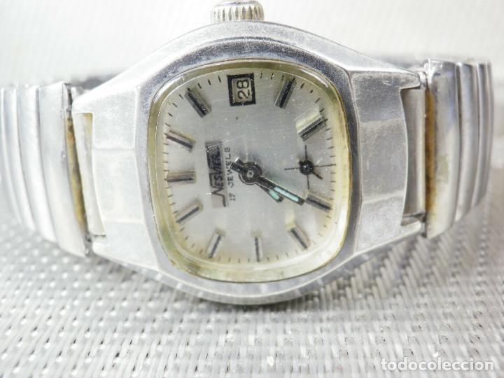 Relojes de pie: ORIGINAL NESVER SUIZO FINALES AÑOS 50 BUEN ESTADO FUNCIONA LOTE WATCHES MONTRE - Foto 5 - 173821710