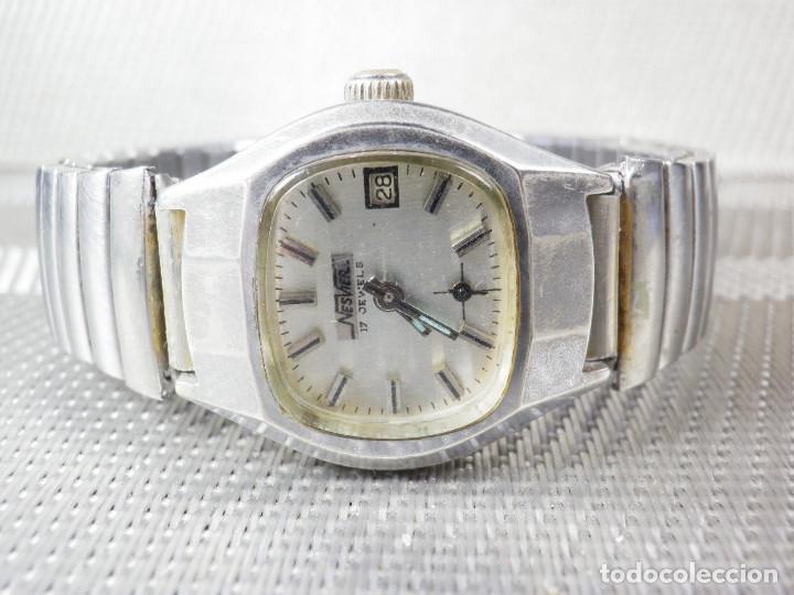 Relojes de pie: ORIGINAL NESVER SUIZO FINALES AÑOS 50 BUEN ESTADO FUNCIONA LOTE WATCHES MONTRE - Foto 8 - 173821710