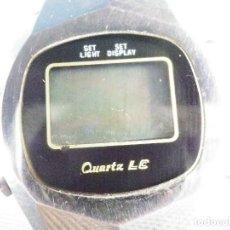 Relojes de pie: ANTIGUO RELOJ ELECTRONICO AÑOS 70 GRAN MAQUINA NO FUNCIONA REPARAR LOTE WATCHES. Lote 173834452