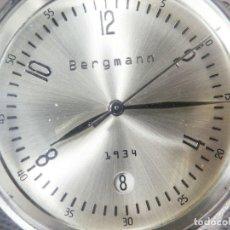 Relojes de pie: CLASICO RELOJ DE CABALLERO ANTIGUO STOK AÑOS 90 CORONA A LAS 2 LOTE WATCHES. Lote 173836704