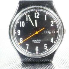 Relojes de pie: ANTIGUO Y CLASICO SWATCH AÑO 1993 DE CABALELRO FUNCIONA PERFECTO LOTE WATCHES. Lote 173837004