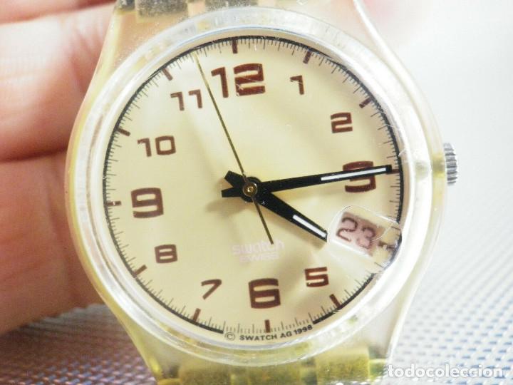 ELEGANTE Y BELLO SWATCH CABALLERO AÑO 1998 FUNCIONA PERFECTO LOTE WATCHES (Relojes - Pie Carga Manual)