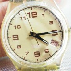 Relojes de pie: ELEGANTE Y BELLO SWATCH CABALLERO AÑO 1998 FUNCIONA PERFECTO LOTE WATCHES. Lote 173837263