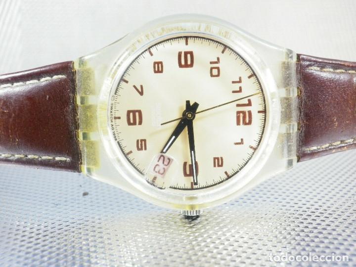 Relojes de pie: ELEGANTE Y BELLO SWATCH CABALLERO AÑO 1998 FUNCIONA PERFECTO LOTE WATCHES - Foto 2 - 173837263