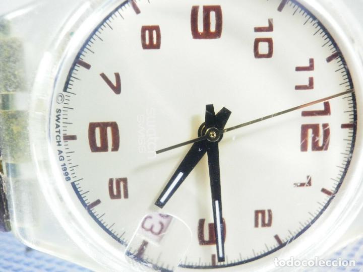 Relojes de pie: ELEGANTE Y BELLO SWATCH CABALLERO AÑO 1998 FUNCIONA PERFECTO LOTE WATCHES - Foto 3 - 173837263
