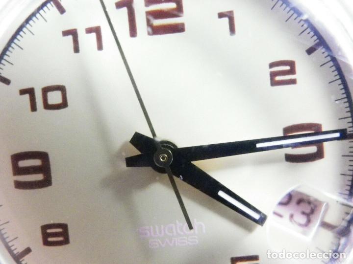 Relojes de pie: ELEGANTE Y BELLO SWATCH CABALLERO AÑO 1998 FUNCIONA PERFECTO LOTE WATCHES - Foto 4 - 173837263