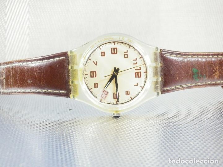 Relojes de pie: ELEGANTE Y BELLO SWATCH CABALLERO AÑO 1998 FUNCIONA PERFECTO LOTE WATCHES - Foto 6 - 173837263