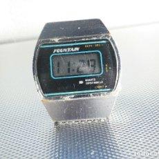 Relojes de pie: PRACTICAMENTE IMPOSIBLE DE ENCONTRAR FONTAIN AÑOS 80 !!!! FUNCIONA LOTE WATCHES. Lote 173838464