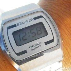 Relojes de pie: PRECIOSO STADIUM AÑO 1982 EXCELENTE ESTADO FUNCIONA COLECCIONISTAS LOTE WATCHES. Lote 173840448