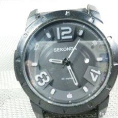 Relojes de pie: DEPORTIVO BONITO SEKONDA DE CABALLERO SUMERGIBLE 50 METROS FUNCIONA LOTE WATCHES. Lote 173842834