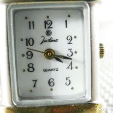 Relojes de pie: ELEGANTE JUSTINA FIN STOK ETIQUETA TIENDA 5.840 PESETAS AÑOS 90 LOTE WATCHES. Lote 173844420