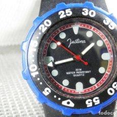 Relojes de pie: DEPORTIVO JUSTINA MUY BELLO FIN STOK PRECIO DE TIENDA 2995 PSETAS LOTE WATCHES. Lote 173847733