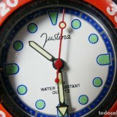 Relojes de pie: DEPORTIVO JUSTINA MUY BELLO FIN STOK PRECIO DE TIENDA 2995 PSETAS LOTE WATCHES. Lote 173848020