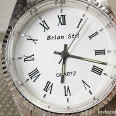 Relojes de pie: ELEGANTE Y BELLO RELOJ DE CABALLERO AÑOS 90 SIN USO ANTIGUO STOK LOTE WATCHES. Lote 173854079