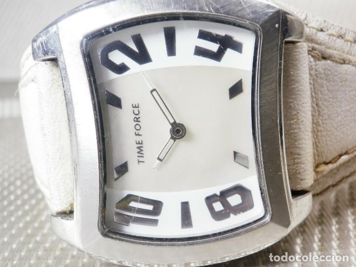 GRAN Y ELEGANTE TIME FORCE DE ALTA CALIDAD ACERO INOX. FUNCIONA LOTE WATCHES (Relojes - Pie Carga Manual)