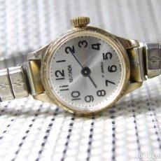Relojes de pie: GUAPISIMO RELOJ DE DAMA AÑOS 60 MUY BUEN ESTADO MECANICO FUNCIONA LOTE WATCHES. Lote 173857490