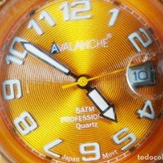 Relojes de pie: DEPORTIVO ALEGRE Y PLAYERO RELOJ DE CABALLERO AVALANCHE FUNCIONA LOTE WATCHES. Lote 173865767