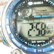 Relojes de pie: GRAN RELOJ MAREA DEPORTIVO SUMERGIBLE 100M FIN STOK GRAN DISEÑO LOTE WATCHES. Lote 173867622
