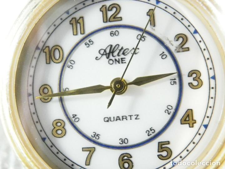 ELEGANTE ALTEX SUIZO FIN STOK ETIQUETA TIENDA 6500 PESETAS AÑOS 90 LOTE WATCHES (Relojes - Pie Carga Manual)
