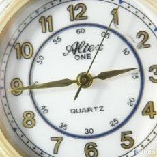 Relojes de pie: ELEGANTE ALTEX SUIZO FIN STOK ETIQUETA TIENDA 6500 PESETAS AÑOS 90 LOTE WATCHES. Lote 173867869