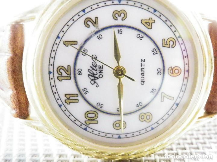 Relojes de pie: ELEGANTE ALTEX SUIZO FIN STOK ETIQUETA TIENDA 6500 PESETAS AÑOS 90 LOTE WATCHES - Foto 2 - 173867869