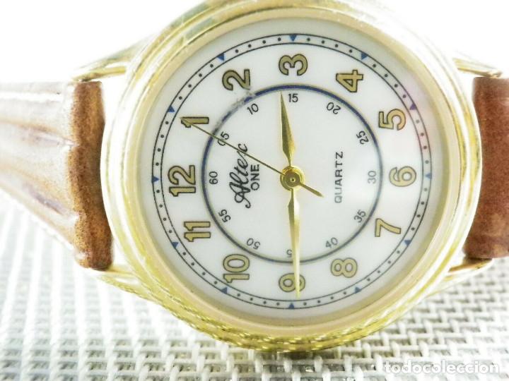 Relojes de pie: ELEGANTE ALTEX SUIZO FIN STOK ETIQUETA TIENDA 6500 PESETAS AÑOS 90 LOTE WATCHES - Foto 5 - 173867869