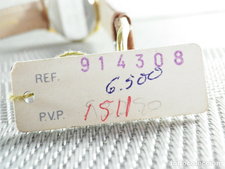 Relojes de pie: ELEGANTE ALTEX SUIZO FIN STOK ETIQUETA TIENDA 6500 PESETAS AÑOS 90 LOTE WATCHES - Foto 7 - 173867869