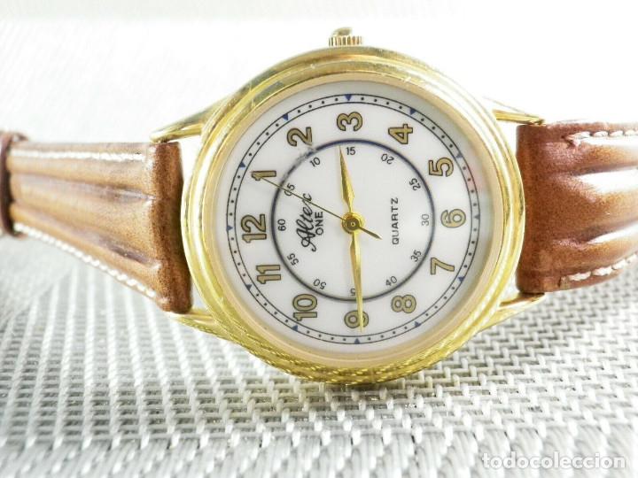 Relojes de pie: ELEGANTE ALTEX SUIZO FIN STOK ETIQUETA TIENDA 6500 PESETAS AÑOS 90 LOTE WATCHES - Foto 8 - 173867869