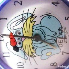 Relojes de pie: GRAN RELOJ DELAN INFANTIL AÑOS 80 FIN STOK CONEJO MOVIENDO LOS OJOS LOTE WATCHE. Lote 173868614