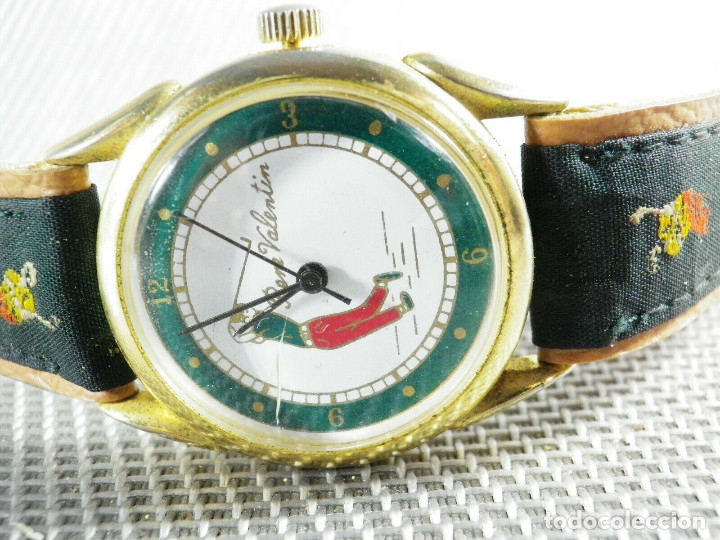 Relojes de pie: ANTIGUO RELOJ COLECCION AÑOS 70 MECANICO CARGA MANUAL GOLF FUNCIONA LOTE WATCHES - Foto 3 - 173869198