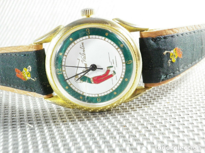 Relojes de pie: ANTIGUO RELOJ COLECCION AÑOS 70 MECANICO CARGA MANUAL GOLF FUNCIONA LOTE WATCHES - Foto 4 - 173869198