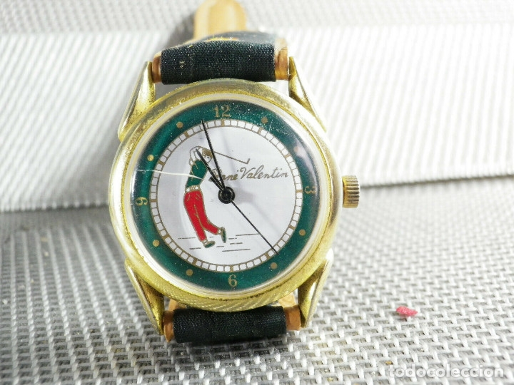 Relojes de pie: ANTIGUO RELOJ COLECCION AÑOS 70 MECANICO CARGA MANUAL GOLF FUNCIONA LOTE WATCHES - Foto 7 - 173869198