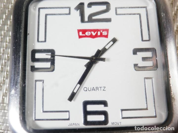 RELOJ DE COLECCION LEVIS BUEN ESTADO FUNCIONA PERFECTAMENTE LOTE WATCHES MONTRE (Relojes - Pie Carga Manual)