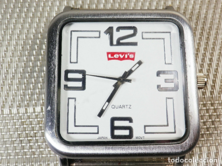 Relojes de pie: RELOJ DE COLECCION LEVIS BUEN ESTADO FUNCIONA PERFECTAMENTE LOTE WATCHES MONTRE - Foto 4 - 173871999