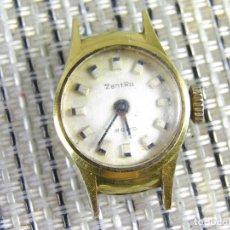 Relojes de pie: DIFICIL DE ENCONTRAR ORIGINAL ZENTRA SUIZO AÑOS 50 FUNCIONA OCASION LOTE WATCHES. Lote 173877893