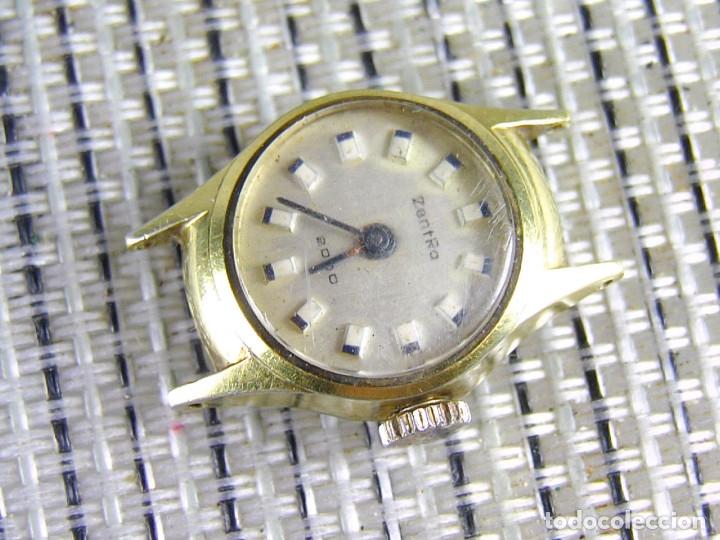 Relojes de pie: DIFICIL DE ENCONTRAR ORIGINAL ZENTRA SUIZO AÑOS 50 FUNCIONA OCASION LOTE WATCHES - Foto 2 - 173877893