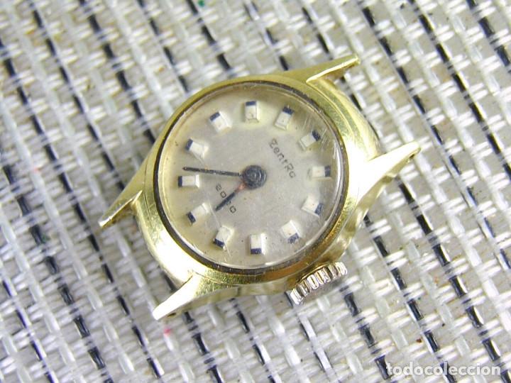 Relojes de pie: DIFICIL DE ENCONTRAR ORIGINAL ZENTRA SUIZO AÑOS 50 FUNCIONA OCASION LOTE WATCHES - Foto 3 - 173877893