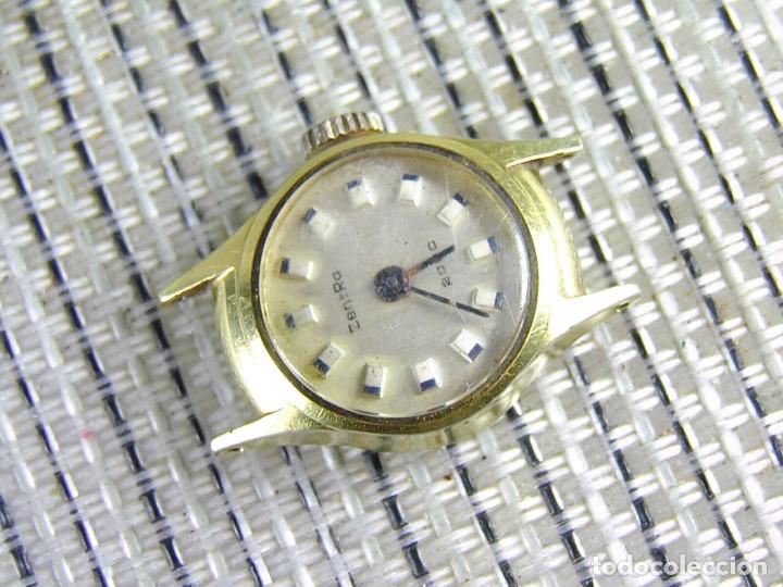 Relojes de pie: DIFICIL DE ENCONTRAR ORIGINAL ZENTRA SUIZO AÑOS 50 FUNCIONA OCASION LOTE WATCHES - Foto 4 - 173877893