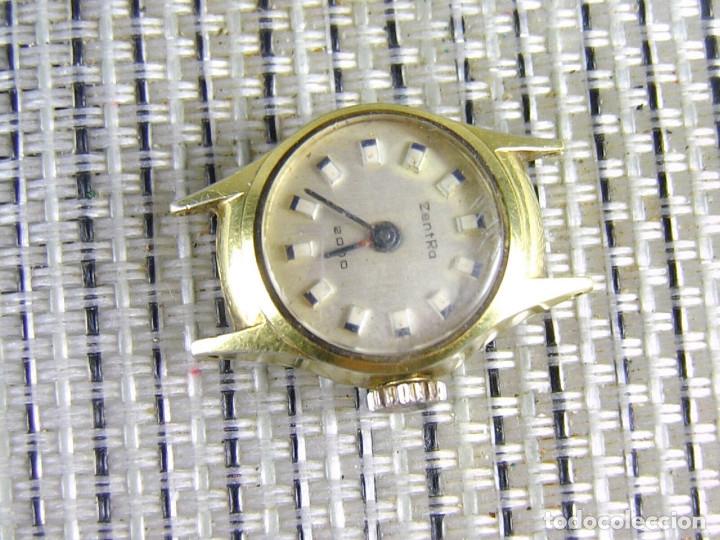 Relojes de pie: DIFICIL DE ENCONTRAR ORIGINAL ZENTRA SUIZO AÑOS 50 FUNCIONA OCASION LOTE WATCHES - Foto 6 - 173877893