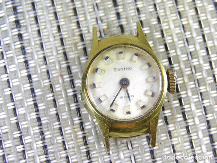 Relojes de pie: DIFICIL DE ENCONTRAR ORIGINAL ZENTRA SUIZO AÑOS 50 FUNCIONA OCASION LOTE WATCHES - Foto 7 - 173877893