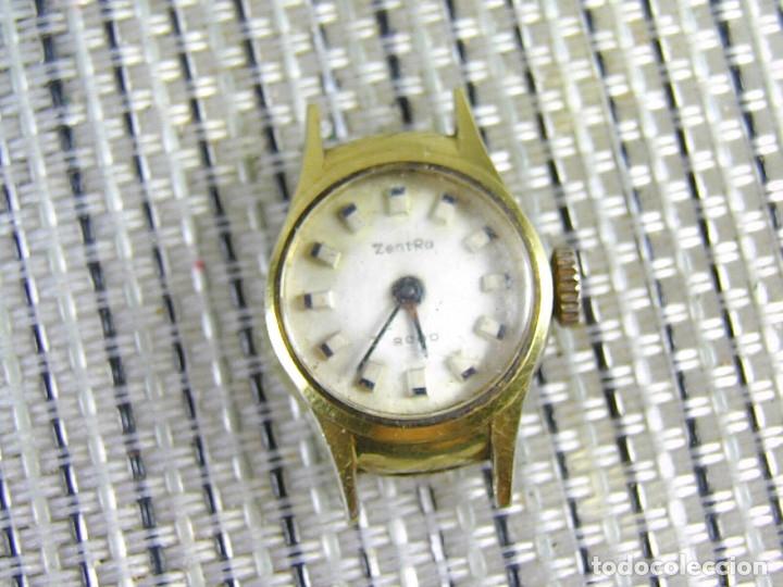 Relojes de pie: DIFICIL DE ENCONTRAR ORIGINAL ZENTRA SUIZO AÑOS 50 FUNCIONA OCASION LOTE WATCHES - Foto 8 - 173877893