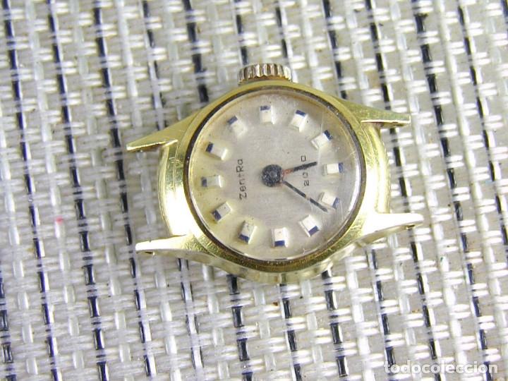 Relojes de pie: DIFICIL DE ENCONTRAR ORIGINAL ZENTRA SUIZO AÑOS 50 FUNCIONA OCASION LOTE WATCHES - Foto 9 - 173877893