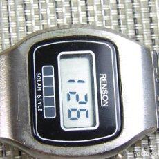 Relojes de pie: BONITO RELOJ DE COLECCION ELECTRONICO FINALES DE LOS 70!!! FUNCIONA LOTE WATCHES. Lote 173878438