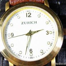 Relojes de pie: ANTIGUO ZURICH AÑOS 90 SIN USO ANTIGUO STOK DE CABALLERO FUNCIONA LOTE WATCHES. Lote 173881465