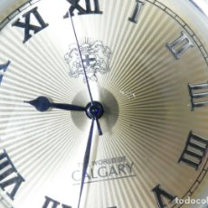 Relojes de pie: DEPORTIVO CALGARY MODELO THE WORLD SERIE LIMITADA DE COLECCION LOTE WATCHES. Lote 173881677