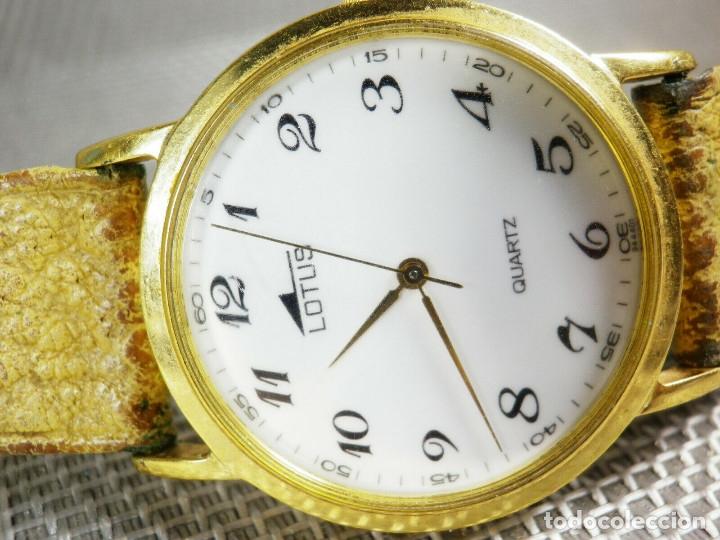 Relojes de pie: ELEGANTE LOTUS DE CABALLERO MUY BUEN ESTADO FUNCIONA PERFECT LOTE WATCHES MONTRE - Foto 2 - 173902474