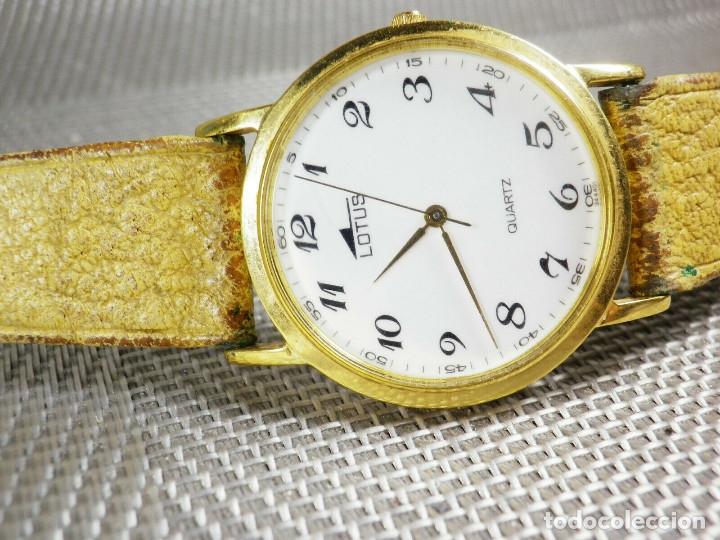 Relojes de pie: ELEGANTE LOTUS DE CABALLERO MUY BUEN ESTADO FUNCIONA PERFECT LOTE WATCHES MONTRE - Foto 4 - 173902474