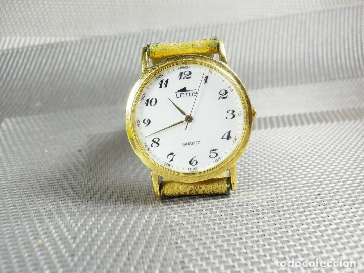 Relojes de pie: ELEGANTE LOTUS DE CABALLERO MUY BUEN ESTADO FUNCIONA PERFECT LOTE WATCHES MONTRE - Foto 6 - 173902474