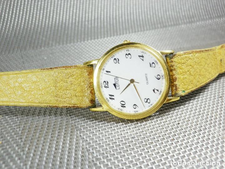 Relojes de pie: ELEGANTE LOTUS DE CABALLERO MUY BUEN ESTADO FUNCIONA PERFECT LOTE WATCHES MONTRE - Foto 7 - 173902474